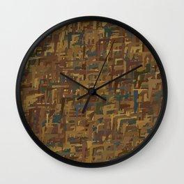 Series 4 - Darkwood Wall Clock