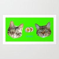 Harper Ziggy Sushi  Art Print