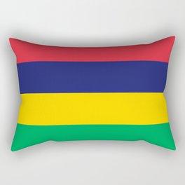 Flag of Mauritius Rectangular Pillow