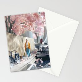Spring's back Stationery Cards