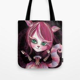 Cheshire Kitty Tote Bag