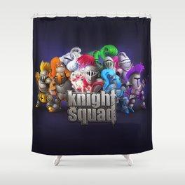 Knight Squad team Shower Curtain