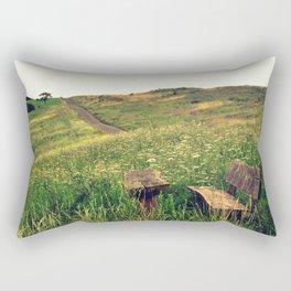 I've been waiting for you Rectangular Pillow