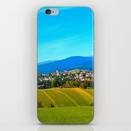 Unsettled geography iPhone Skin