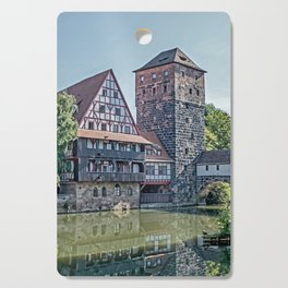 Romantic Nuremberg, -Franken-Bavaria-Germany Cutting Board