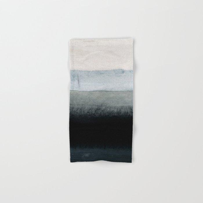 shades of grey Hand & Bath Towel