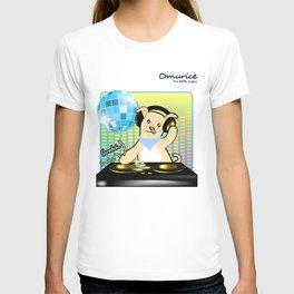 Omurice the little puppy - DJing T-shirt