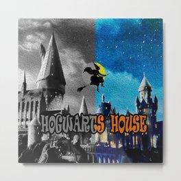 hogwarts houses Metal Print