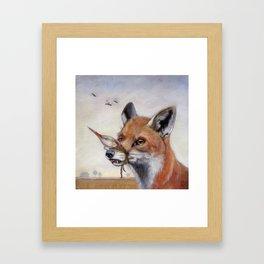 Dead Air (Fox) Framed Art Print