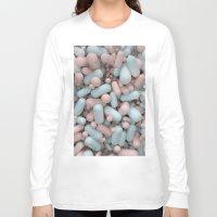 pills Long Sleeve T-shirts featuring Pills by Jacky MK Leung