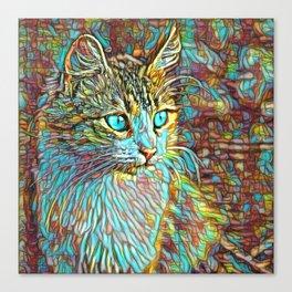 ColorMix Kitten 1 Canvas Print