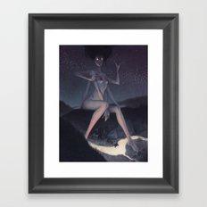Janitor of lunacy Framed Art Print