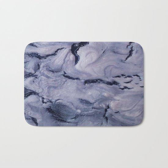 gray marble Bath Mat