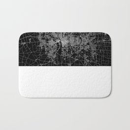Columbus map ohio Bath Mat