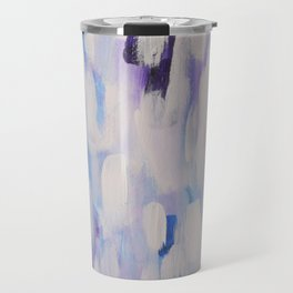 Blue rain of hope Travel Mug