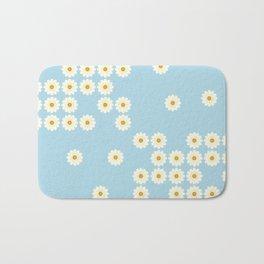Misplaced daisies Bath Mat