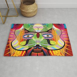 Comedy and Tragedy Rug