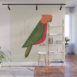 Australian King Parrot, Bird of Australia Wall Mural