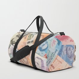 Money dollars Duffle Bag