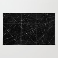 constellations Area & Throw Rugs featuring Constellations by Dood_L
