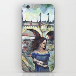Under Paris skies. iPhone Skin