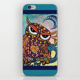 Mystical Owl iPhone Skin