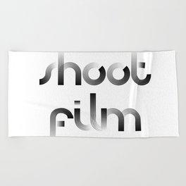 Shoot Film Beach Towel