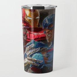War of superhero Travel Mug