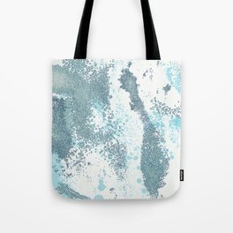 Aqua Sprawl Tote Bag