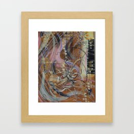 Let's play piano Framed Art Print