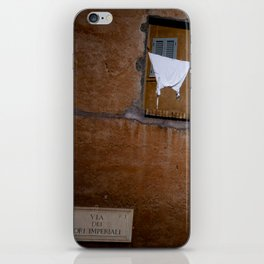 Rome - Via Fori imperiali iPhone Skin