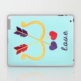 Take A Shot At L.O.V.E. Laptop & iPad Skin