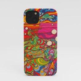Psychadelic Illustration iPhone Case