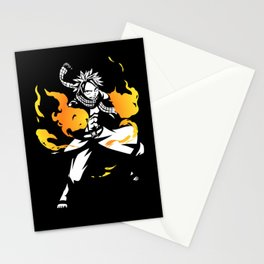 Natsu Dragneel Fairy Tail Stationery Cards