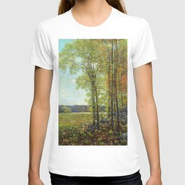 Classical Masterpiece 'Spring in Old Lyme, Connecticut' by Frederick Childe Hassam T-shirt
