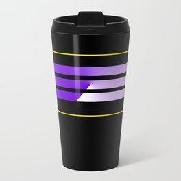 TEAM COLORS 5....purple, yellow Travel Mug