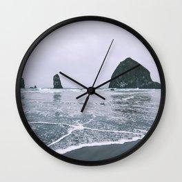 Cannon Beach II Wall Clock