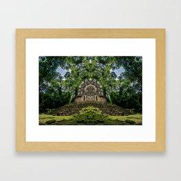 Kaleidoscape: Yaxchilan Framed Art Print