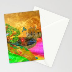 Let color bring you smiles as you walk lifes many miles Stationery Cards