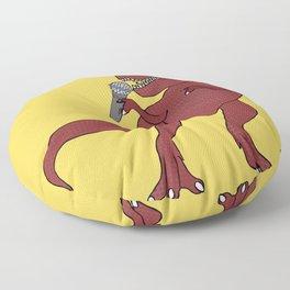 He-Rex Singer Floor Pillow