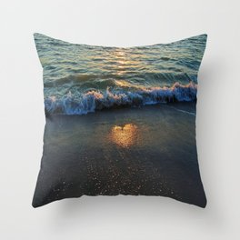 Yes, the Ocean Knows Throw Pillow