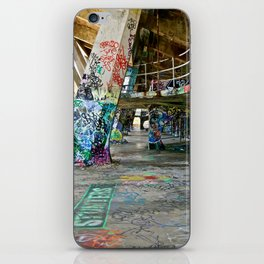 Graffiti Hall iPhone Skin