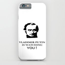 Vladimir Putin iPhone Case
