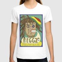 reggae T-shirts featuring Reggae by Timea Koncz