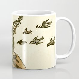 Owl dressed as a soldier Coffee Mug