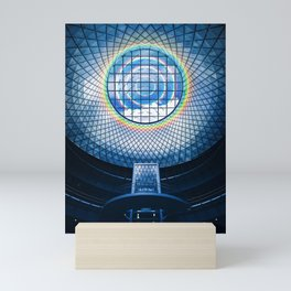Dome Rainbow Skylight Architecture Glass Mini Art Print