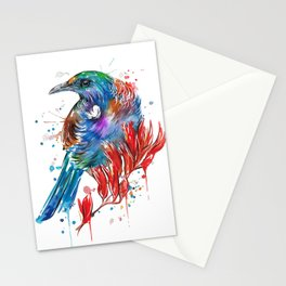 Flax Tui Stationery Cards