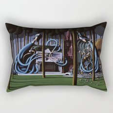 The Gateway to Her Rectangular Pillow