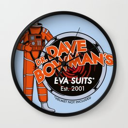 Dr. Dave Bowman's EVA Suits Wall Clock