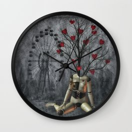 Love sprouts Wall Clock